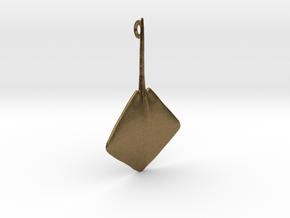Stingray Pendant in Natural Bronze