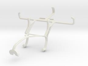 Controller mount for Xbox 360 & Celkon Campus Colt in White Natural Versatile Plastic