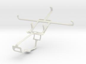 Controller mount for Xbox One & Gigabyte GSmart Mi in White Natural Versatile Plastic