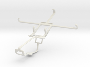 Controller mount for Xbox One & Gionee Gpad G5 in White Natural Versatile Plastic