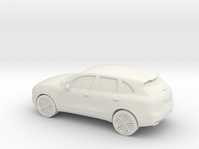 1/87 2011 Porsche Cayenne 958 in White Strong & Flexible