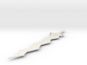 Levin Sword in White Natural Versatile Plastic