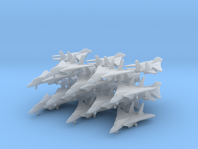 Grumman F-14 Tomcat (20x)(1:400) in Smooth Fine Detail Plastic