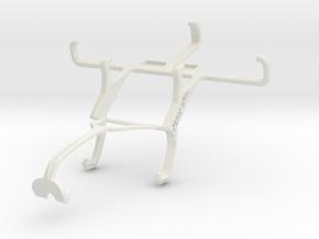 Controller mount for Xbox 360 & Plum Trigger Plus  in White Natural Versatile Plastic