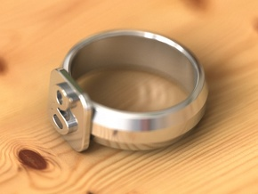 new google ring in Fine Detail Polished Silver