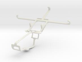 Controller mount for Xbox One & vivo X5 in White Natural Versatile Plastic