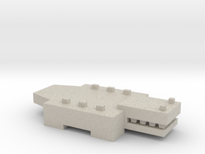 Brick Croc in Natural Sandstone