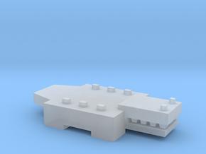 Brick Croc in Smooth Fine Detail Plastic