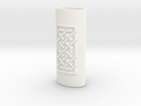 Lighter Case 001 in White Processed Versatile Plastic