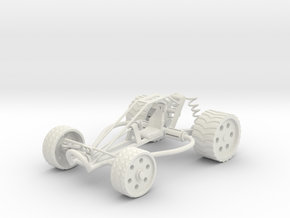 Buggy in White Natural Versatile Plastic