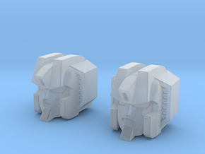 Clanker and Warper Heads Master Version in Smooth Fine Detail Plastic