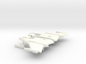 Chic-Capitan Wings in White Processed Versatile Plastic
