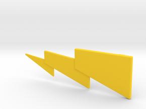 Lightning(R) in Yellow Processed Versatile Plastic