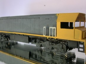 KIWIRAIL DXR NZ120 - Modern Cab in Smooth Fine Detail Plastic