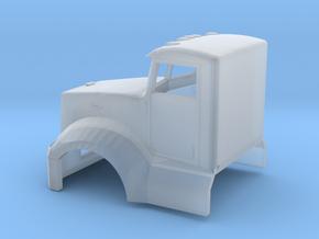 1/87 Peterbilt 586 Cab in Smooth Fine Detail Plastic