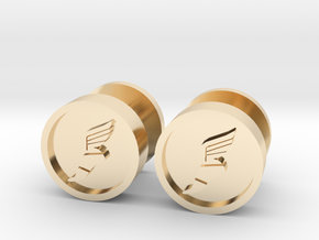 Team Fortress 2 Scout Cufflink in 14K Yellow Gold