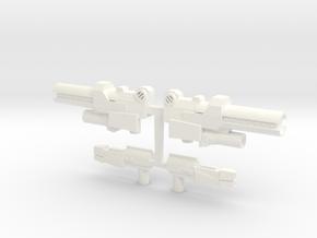 CV.Arms01(Arcee+Optimus) in White Processed Versatile Plastic