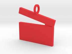 Movies Pendant in Red Processed Versatile Plastic
