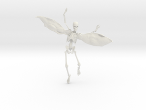 Fairy Skeleton 193mm in White Natural Versatile Plastic