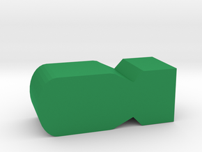 WW2 Bomb Token in Green Processed Versatile Plastic