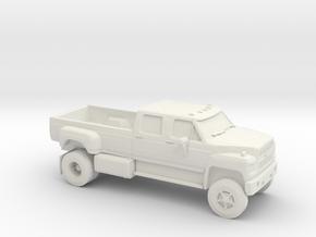 1/64 1980-90 Ford F650 in White Natural Versatile Plastic