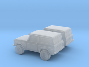 1/160 2X 1970 Ford Bronco  in Smooth Fine Detail Plastic