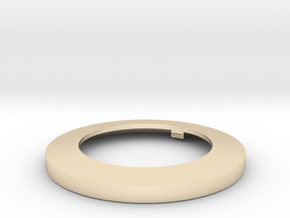 Light Lens Mount One To One in 14k Gold Plated Brass