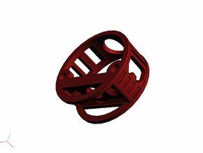 GCM111-04-01 - R.I.C.E.™ Port Style1 holder in White Strong & Flexible
