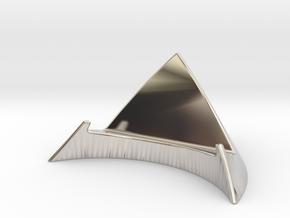iPhone 5 Desk Stand in Platinum