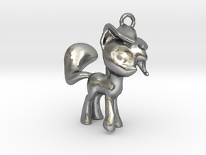 My Little Pony Pendant in Natural Silver
