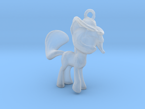 My Little Pony Pendant in Smooth Fine Detail Plastic