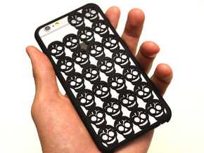 Skull iPhone 6/6S case for 4.7inch in Black Natural Versatile Plastic