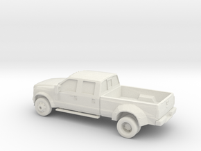 1/87 2014 Ford F450 Lariat Super Duty King Ranch  in White Natural Versatile Plastic