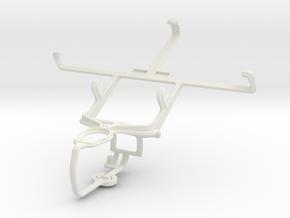 Controller mount for PS3 & BlackBerry Porsche Desi in White Natural Versatile Plastic