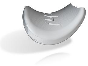 I3D BITTEN HEART in White Natural Versatile Plastic