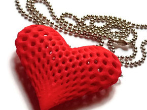 oh my heart ! in Red Processed Versatile Plastic