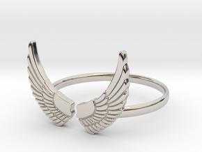 Wings Ring in Platinum