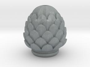 Pine Cone in Polished Metallic Plastic