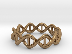 Ring DNA in Natural Brass