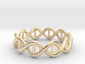 Ring DNA in 14K Yellow Gold