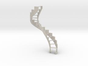 1:12 Wendeltreppe  / Spiral Staircase in Natural Sandstone