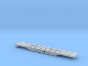 Cargo Spinter Wagenkasten ohne Motor_v2 TT 1:120 in Smooth Fine Detail Plastic