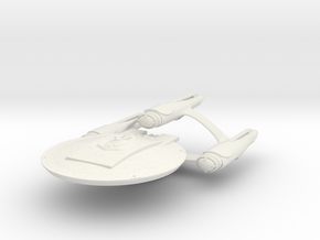 Gallant Class HvyCruiser in White Natural Versatile Plastic