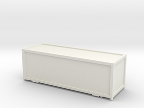 Container Cargo Sprinter_v1 TT 1:120 in White Natural Versatile Plastic