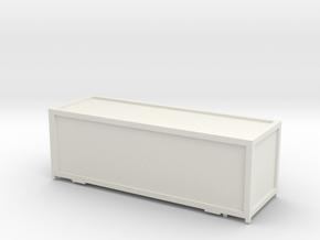 Container Cargo Sprinter_v1 TT 1:120 in White Natural Versatile Plastic