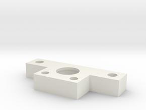 Minizpc Rear Pivot in White Natural Versatile Plastic