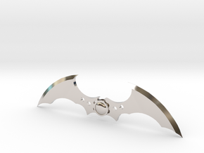 Arkham Asylum Batarang in Platinum