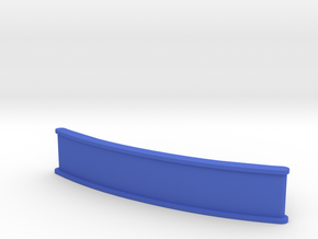 ZMR250 Front bumper (50mm) in Blue Processed Versatile Plastic