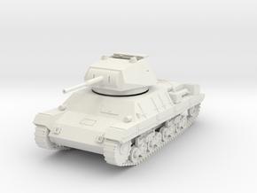 PV60D P40 Heavy Tank - hatch open (1/48) in White Natural Versatile Plastic