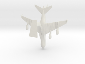 Airbus A380-0.25 in White Strong & Flexible